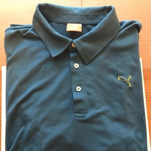 Puma polo, size Large EUC.  Like new